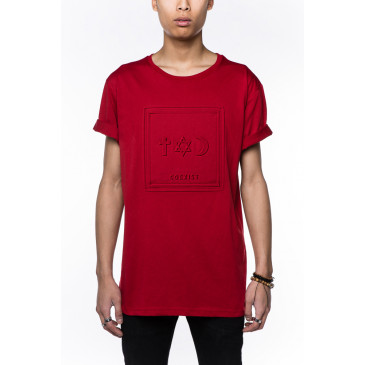 T-shirt CO ALFRED ROUGE