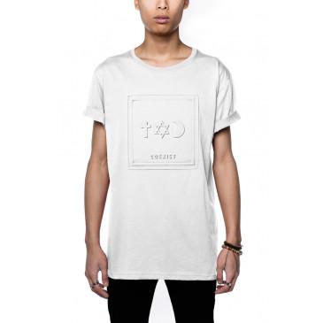 T-shirt CO ALFRED BLANC