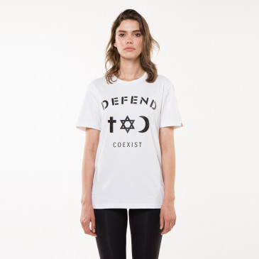 T-shirt CO TEE BLANC