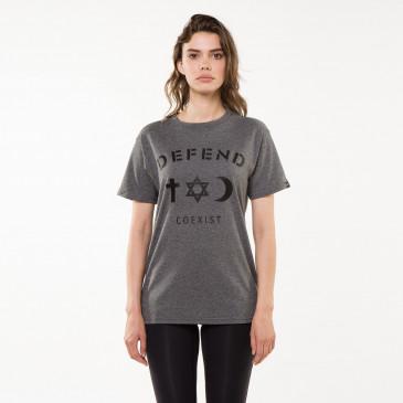 T-shirt CO TEE GRIS