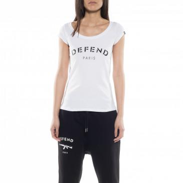 T-shirt DEFEND BASIC BLANC