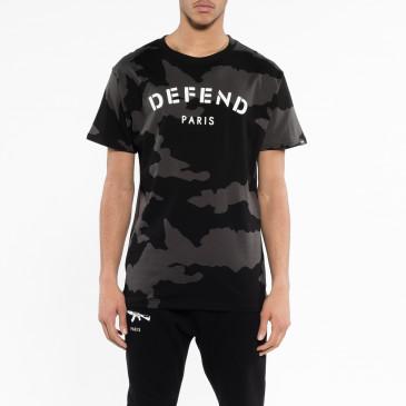T-shirt DEFEND TEE NOIR