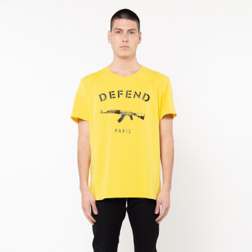 T-shirt PARIS TEE JAUNE