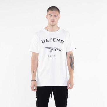 T-shirt PARIS TEE BLANC