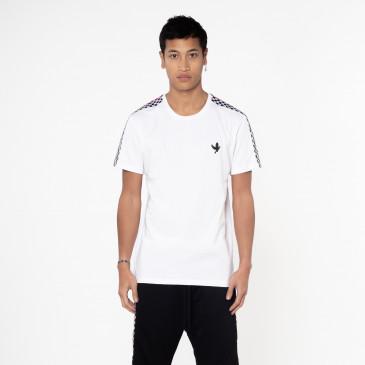 T-shirt TEE DAMIER BLANC