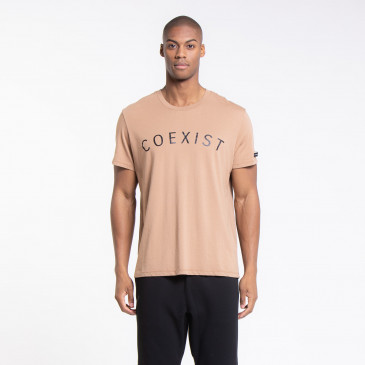 ICONIC T-SHIRT EASY COEXIST CARAMEL