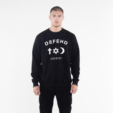 Sweatshirt CO CREW BLACK