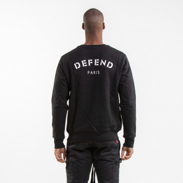 ICONIC SWEATSHIRT DEFEND BLACK