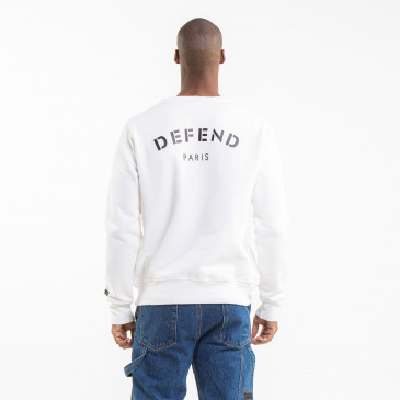 ICONIC SWEATSHIRT DEFEND OFF-WHITE