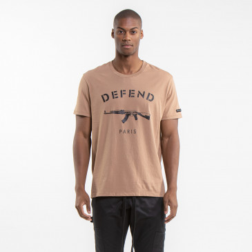 ICONIC T-SHIRT EASY PARIS CARAMEL