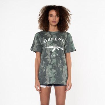 T-shirt PARIS TEE PALMIER KAKI