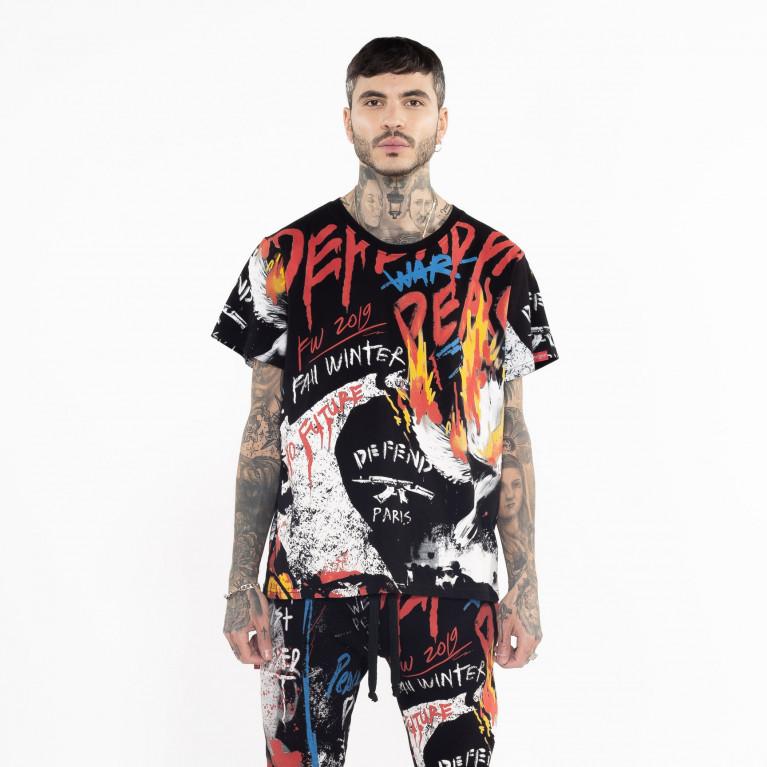 Camiseta ART TEE NEGRA