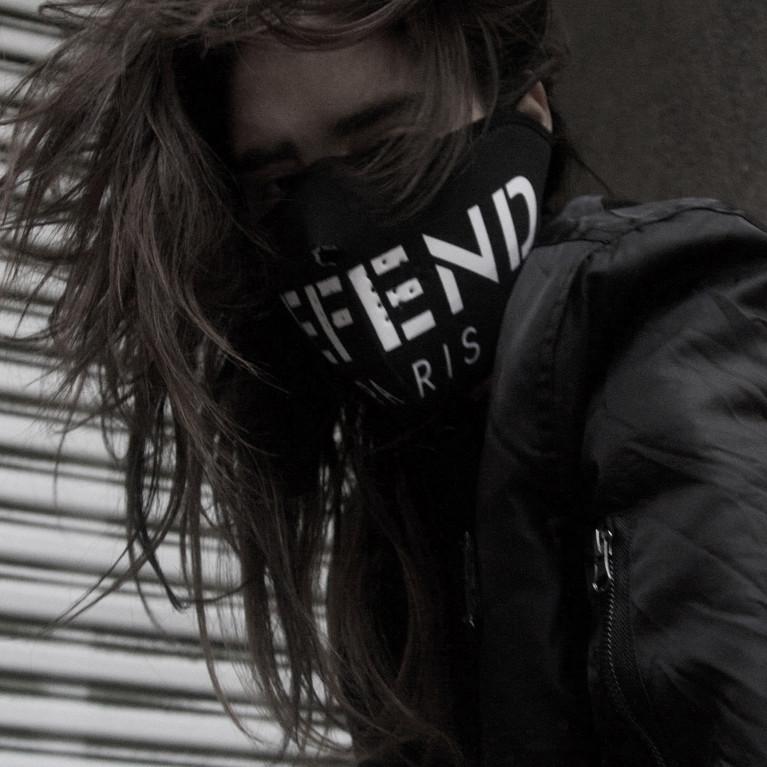 Face Mask DEFEND PARIS NEGRA