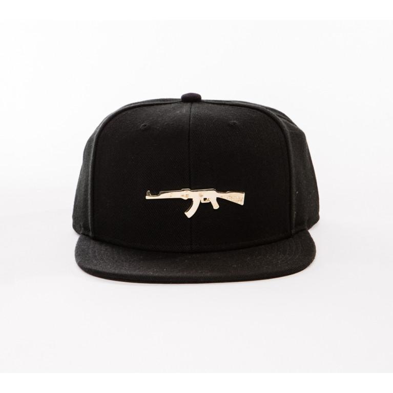 Gorra PARIS GOLD CAP NEGRA