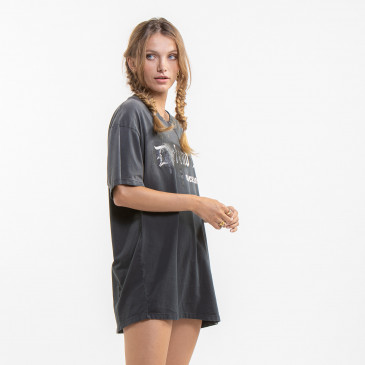 Camiseta CONTACT-BLACK