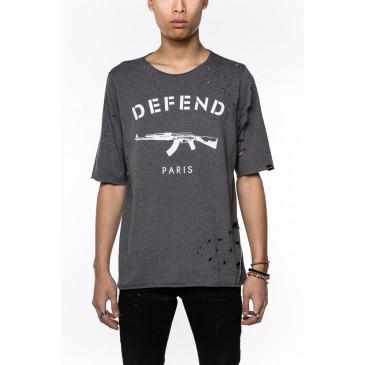 Camiseta PARIS ENZO GRIS