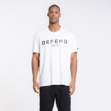 IKONISCHES T-SHIRT EASY DEFEND OFF-WHITE