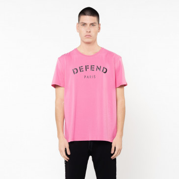 Camiseta DEFEND TEE ROSA