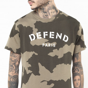 Camiseta DEFEND TEE KAKI
