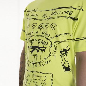 T-shirt ANDROMEDA GIALLA