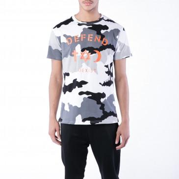 T-shirt CO TEE CAMOU NERA