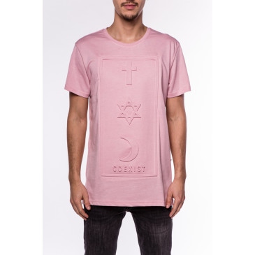 T-shirt CO 3D ROSA