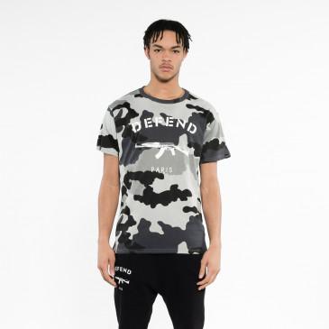 T-shirt PARIS TEE NERA