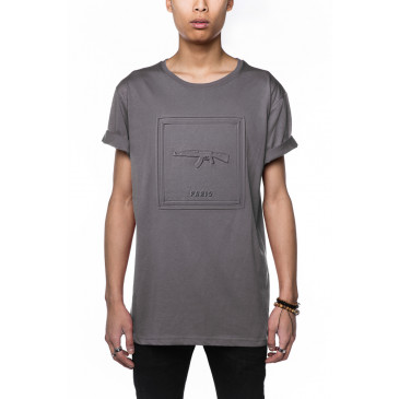 T-shirt PARIS ALFRED GRIGIA