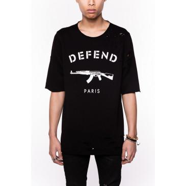 T-shirt PARIS JACQUES NERA