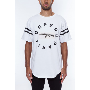 T-shirt STRIP TEE BIANCA