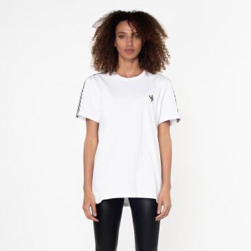 T-shirt TEE DAMIER BIANCA