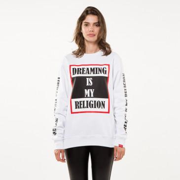 Sweatshirt TO BE WHITE