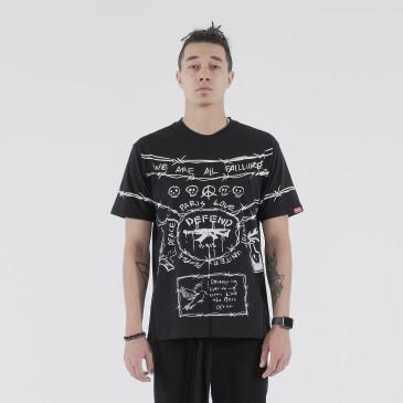 T-shirt ANDROMEDA BLACK