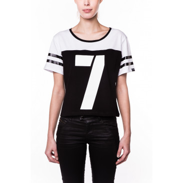 T-shirt BEATRICE BLACK