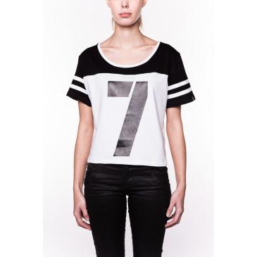 T-shirt BEATRICE WHITE