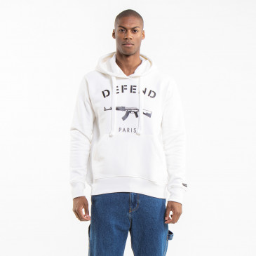 ICONIC SWEATSHIRT CLASSIC PARIS OFF-WHITE