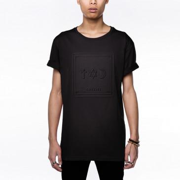 T-shirt CO ALFROT  SCHWARZ