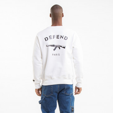 IKONISCHES SWEATSHIRT PARIS OFF-WHITE