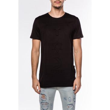 T-shirt CO 3D SCHWARZ