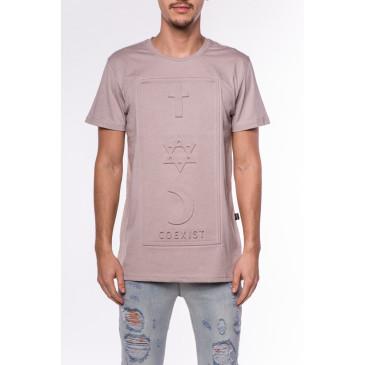 T-shirt CO 3D BRAUN
