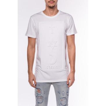 T-shirt CO 3D WEISS