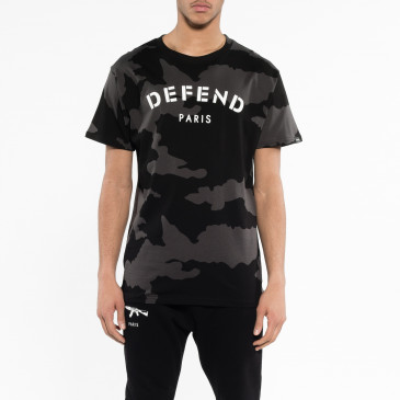 T-shirt DEFEND TEE SCHWARZ