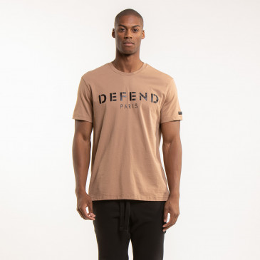 IKONISCHES T-SHIRT EASY DEFEND CARAMEL