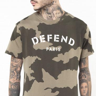 T-shirt DEFEND TEE KAKI