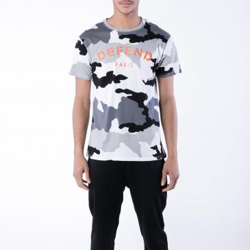 T-shirt DEFEND TEE CAMOU SCHWARZ