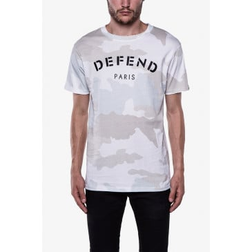 T-shirt DEFEND TEE CAMOU WEISS