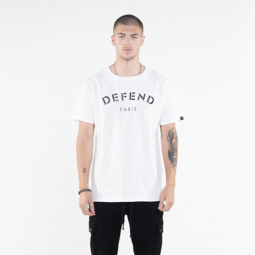 T-shirt DEFEND TEE WEISS