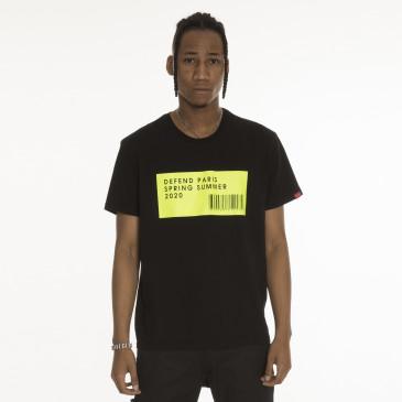 T-shirt DURBAN SCHWARZ
