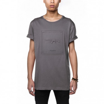 T-shirt CO ALLAN GRAU