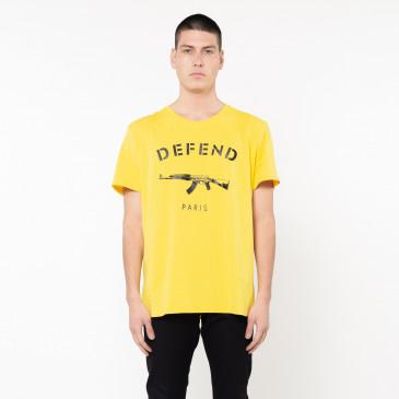 T-shirt PARIS TEE GELB